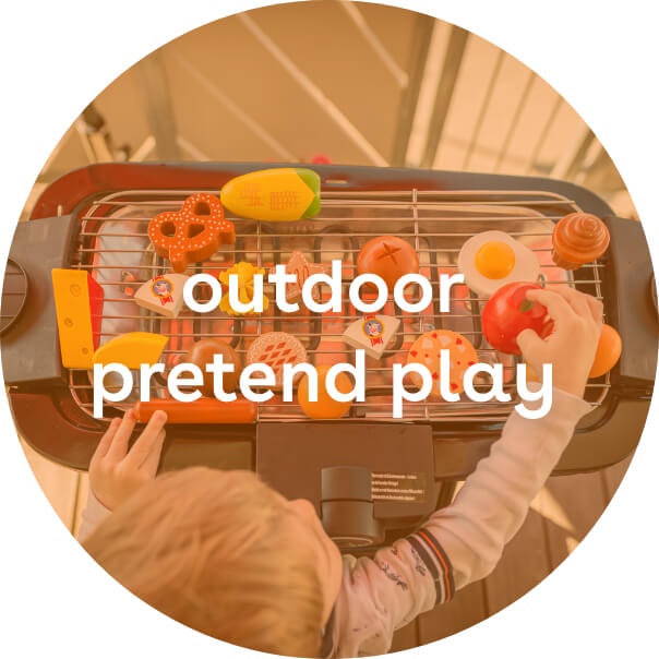 outdoor pretend play