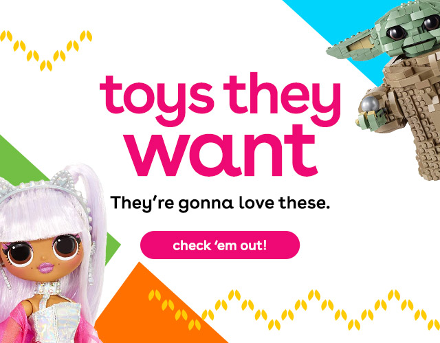 Hot toys for kids - the toys they want!