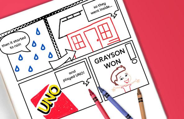 create a comic book