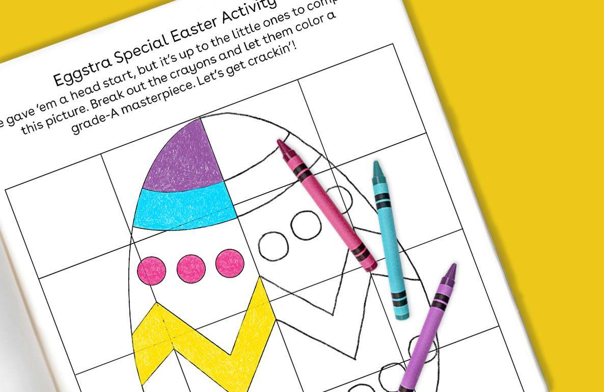 Eggstra Special Easter Activity
