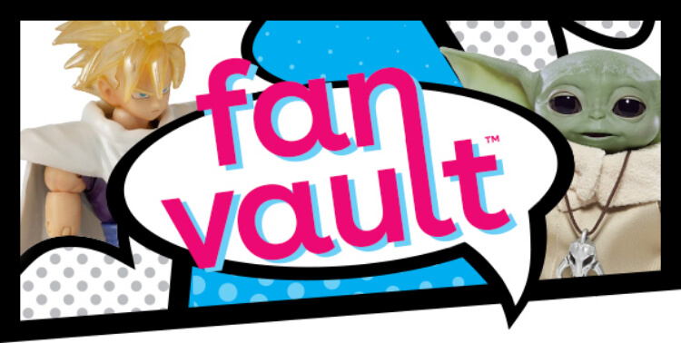 Fan Vault collectible action figure toy hub at Toys R Us
