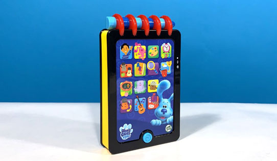 Blue's Clues Really Smart Handy Dandy Notebook toy review