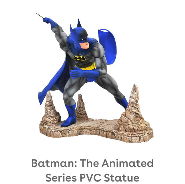 DIAMOND SELECT TOYS DC Gallery: Batman (Classic Version) PVC Figure
