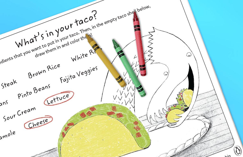 Dragons Love Tacos printables