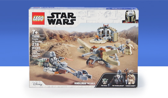 LEGO Star Wars: The Mandalorian Trouble on Tatooine Toy Review