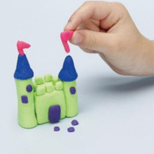 play-doh how to make a castle