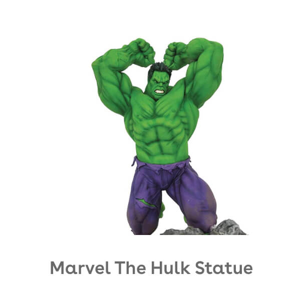 DIAMOND SELECT TOYS Marvel Premier Collection: The Hulk Statue, Multicolor, 17 inches