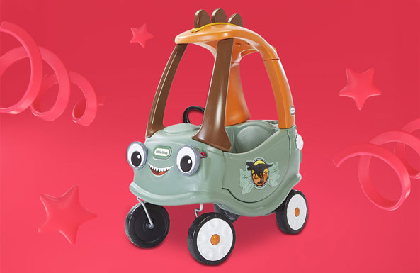 Little Tikes T-Rex Cozy Coupe