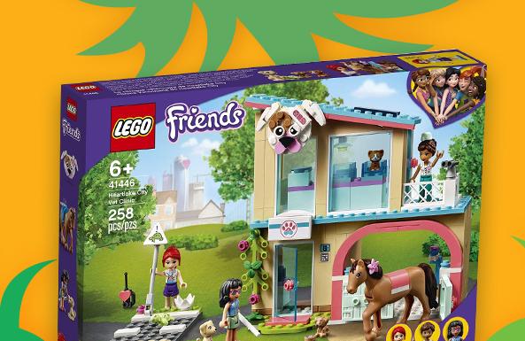 'LEGO Friends building sets