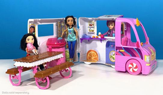 Disney Princess Comfy Squad Sweet Treats Truck toy review