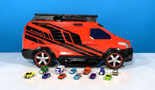 Micro Machines Super Van City Transforming Playset toy review