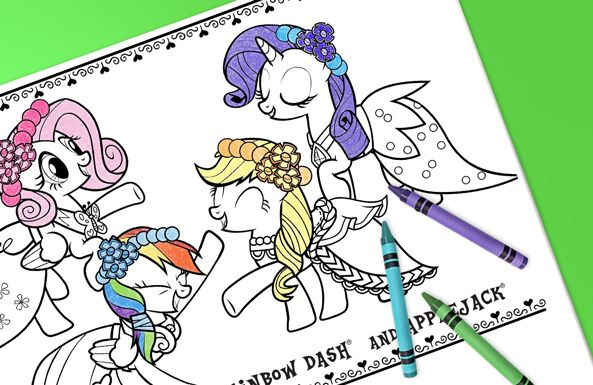 My Little Pony coloring sheets