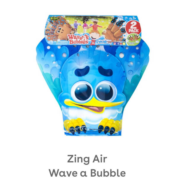 Zing Air Wave a Bubble