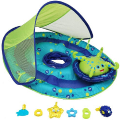 pool floats, kickboards and swim floaties for infants and toddlers