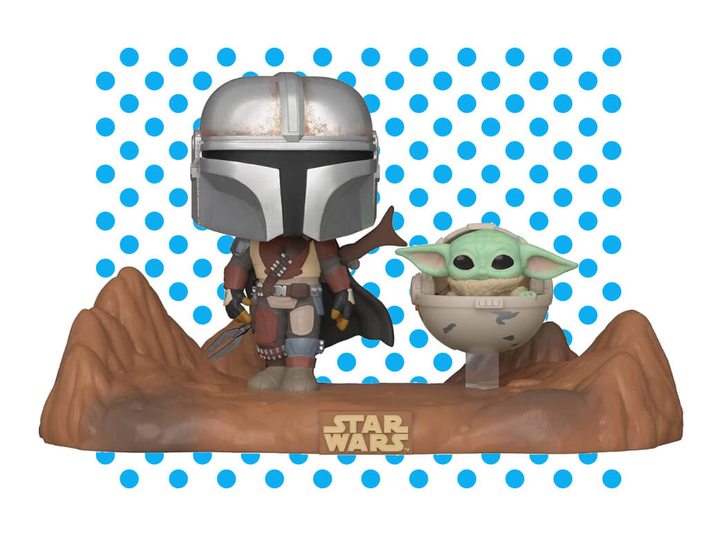 Funko Pop! Moment Star Wars: Mandalorian - Mandalorian & Child