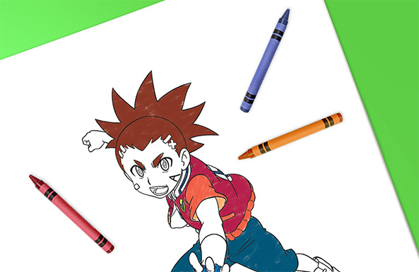 Beyblade coloring sheets free printable for kids