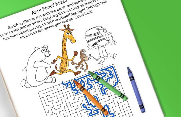April Fools' maze