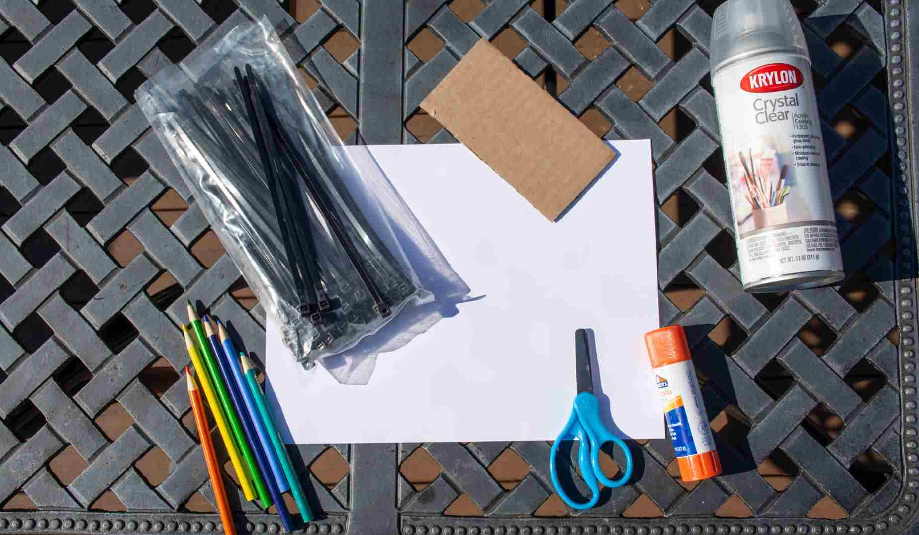 supplies to make your own bike license plate