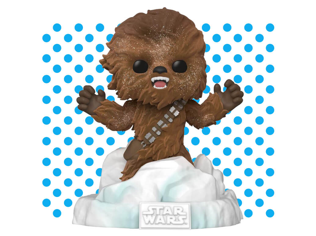 Funko Pop! Deluxe Star Wars: Battle at Echo Base Series - Flocked Chewbacca