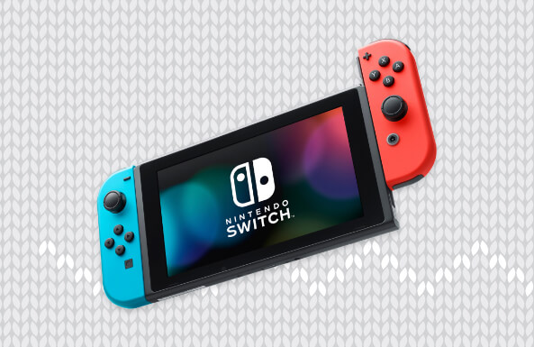 Nintendo Switch console and video games