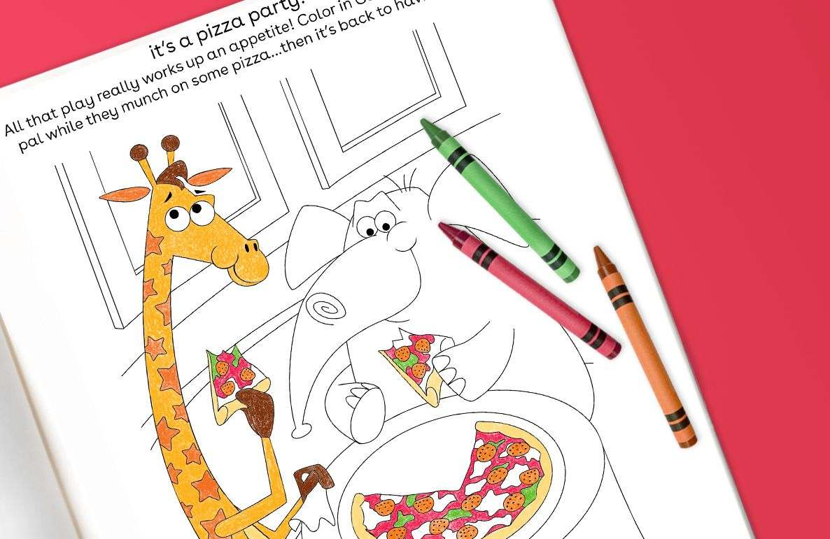 Geoffrey's pizza party