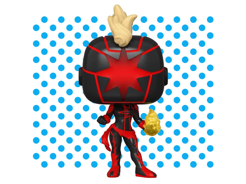 Funko Pop! Marvel: Dark Captain Marvel