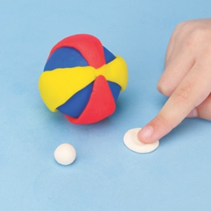 play-doh how to make a beach ball