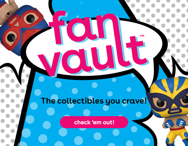 Fan Vault at Toys R Us - Funko POP! Marvel Luchadores collectible action figures