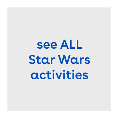 Star Wars activities image