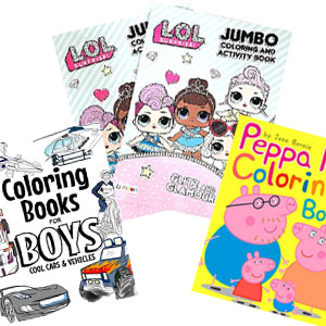coloring books & activity books image